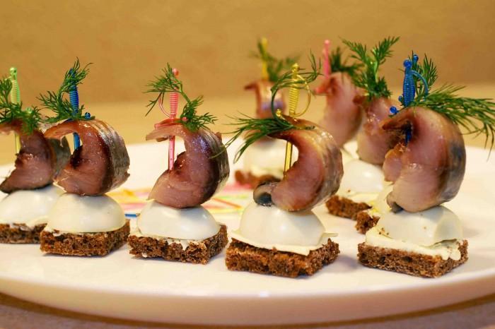 Интересные блюда из сельди