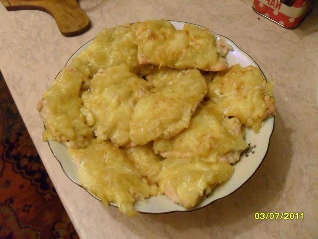 Филе курицы с ананасами 7
