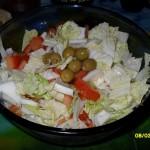 Простые постные салаты