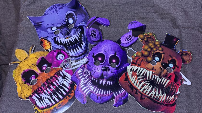 как сделать маску своими руками, как сделать маску аниматроника, маска из бумаги своими руками, маска своими руками, маски аниматроников, фнаф маски аниматроников